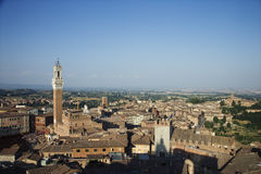 Cityscape of Siena Stock Photos