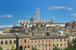 Cityscape (Siena) Stock Images