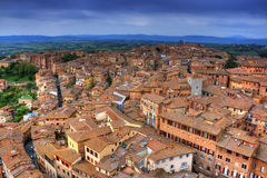 Cityscape of Siena (toscana - italy) Royalty Free Stock Images
