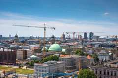 Cityscape from the sightseeing platform on the Berlin Cathedral Royalty Free Stock Image