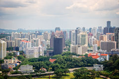 Cityscape of Singapore Stock Photography