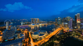 Cityscape of Singapore city, Royalty Free Stock Photo