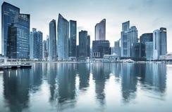 Cityscape Singapore Stock Photo