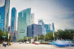 Cityscape of Singapore Royalty Free Stock Photos