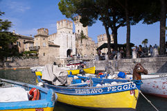Cityscape Sirmione, Italy Stock Photography