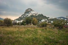 Cityscape, Skiros, Nothern Sporades, Greece. Image of Cityscape, Skiros, Nothern Sporades, Greece Royalty Free Stock Photos