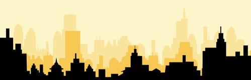 Cityscape skyline at Morning Royalty Free Stock Photo