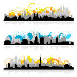 Cityscape skyline vector Stock Photo