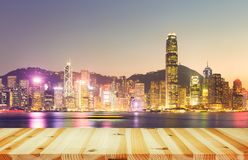 Victoria Harbour Hong Kong Royalty Free Stock Photo