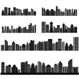 Cityscape with Skyscraper Building Royalty Free Stock Photos
