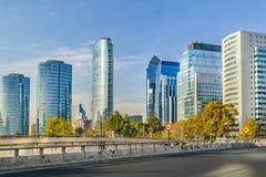 Santiago de Chile Skyscrapers stock photos
