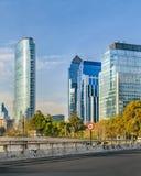 Santiago de Chile Skyscrapers stock image