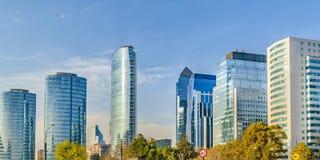 Santiago de Chile Skyscrapers royalty free stock photography