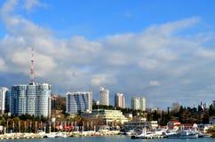 Cityscape of Sochi Stock Photo