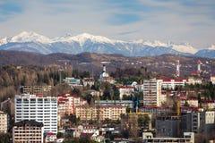 Cityscape Sochi. Russia Stock Photography