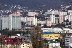 Cityscape Sochi. Russia Royalty Free Stock Photo