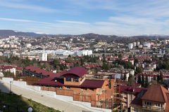 Cityscape Sochi. Russia Royalty Free Stock Images