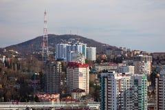 Cityscape Sochi Ryssland Arkivfoton