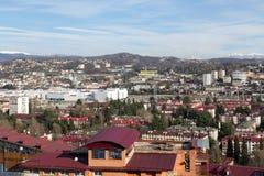 Cityscape Sochi Ryssland Arkivbilder