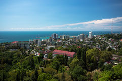 Cityscape of Sochi Royalty Free Stock Photos