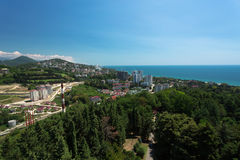 Cityscape of Sochi Royalty Free Stock Photo
