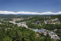 Cityscape of Sochi Stock Photography
