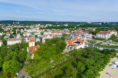 Cityscape of Sopot Royalty Free Stock Images