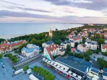 Cityscape of Sopot, top view Stock Photo