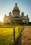 St. Isaac Cathedral in Saint-Petersburg, Russia. royalty free stock photos