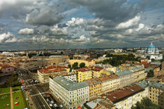 Cityscape of St. Petersburg, Russia Stock Photos