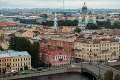 Cityscape of St. Petersburg, Russia Royalty Free Stock Photo