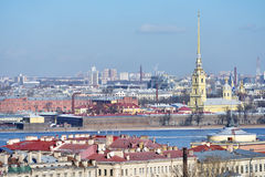 Cityscape of St. Petersburg, Russia Stock Photo