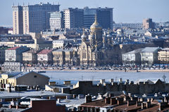 Cityscape of St. Petersburg, Russia Stock Photography