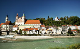 Cityscape of Steyr Royalty Free Stock Image