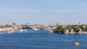 Cityscape of Stockholm Royalty Free Stock Photos