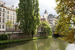 Cityscape in Strasbourg. Alsace, France Stock Photo