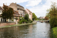 Cityscape in Strasbourg, France Royalty Free Stock Images