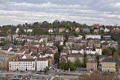 Cityscape of Stuttgart, Germany Stock Photography