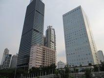 Cityscape of Sudirman, Jakarta Stock Photos
