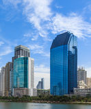 Cityscape in Sunny Day, Thailand Royalty Free Stock Image