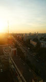 Cityscape Sunset. Thailand Royalty Free Stock Photo