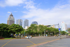 Cityscape surround taipei city government Stock Photography