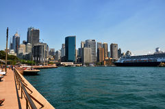Cityscape of Sydney Royalty Free Stock Photos