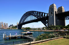 Cityscape of Sydney bridge Stock Photography