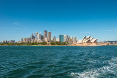 Cityscape of Sydney Downtown Stock Image