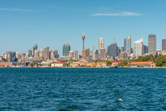 Cityscape of Sydney Downtown in a beautiful day Stock Photo
