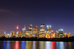 Cityscape of Sydney Royalty Free Stock Photos