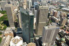 Cityscape of Sydney from tower Stock Photos