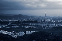 Cityscape of Taipei Royalty Free Stock Photo