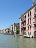Cityscape taken from the Grand canal Royalty Free Stock Photography